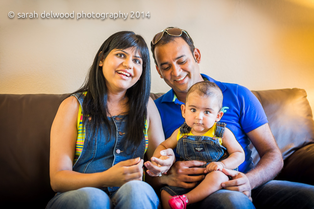6 month baby boy photo shoot natural light indoors family in san jose with Sarah Delwood Photography
