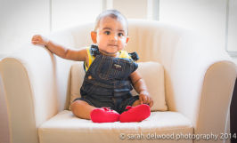 natural light 6 month baby boy portraits indoors in san jose with Sarah Delwood Photography