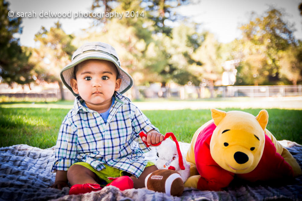 natural light 6 month baby boy photo shoot natural light portraits outdoors in san jose with Sarah Delwood Photography