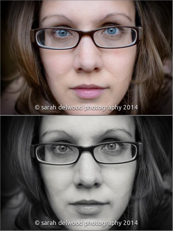 photographer self portraits color black white art edgy