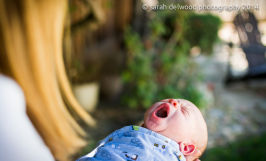 natural light baby boy newborn outdoor portraits San Jose Sarah Delwood Photography
