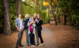 natural light family portraits outdoors park mountain view Sarah Delwood Photography