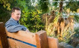adult man male headshots portraits natural light outdoors san jose sarah delwood photography