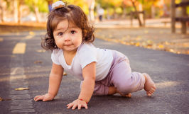 one year old girl natural light san jose park portraits Sarah Delwood Photography