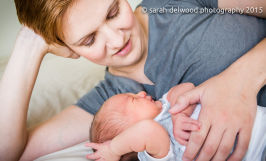 newborn baby boy family natural light Sarah Delwood Photography