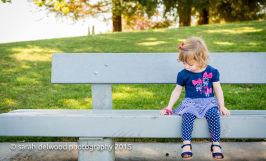 Toddler girl family natural light portrait session with Sarah Delwood Photography