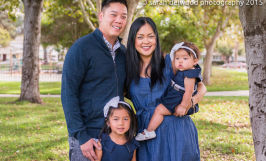 Extended family natural light outdoor portraits with kids and adults San Jose Sarah Delwood Photography