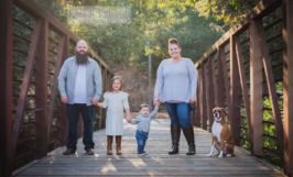 natural light outdoor family portrait photography baby kids san jose sarah delwood